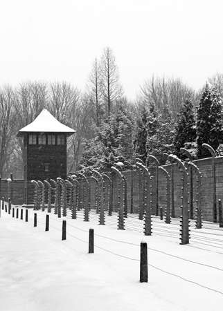 Auschwitz camp, Poland