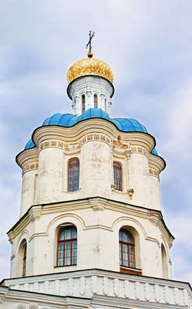 chernigow: Old orthodox cathedral of All Saints in historical town Chernigov,Ukraine Stock Photo