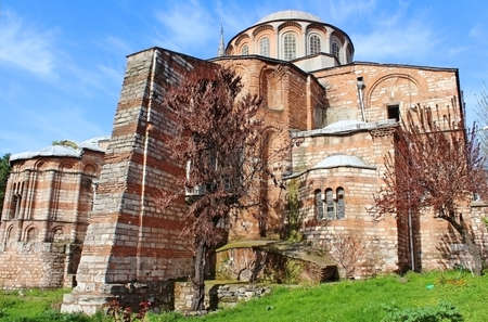 chora: Church of the Holy Savior in Chora  Second name of it now is The Kariye Museum in Istanbul, Turkey