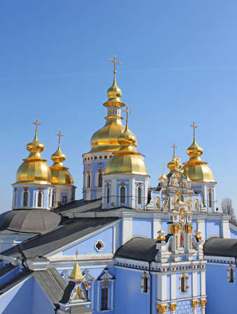 St. Michaels Golden-Domed Monastery - famous church complex in Kiev, Ukraine