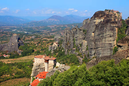 Meteora Monasteries in Greece photo