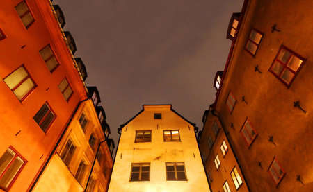 Old Town  Gamla Stan  in Stockholm  Gamla Stan is one of the largest and best preserved medieval city centers in Europe photo