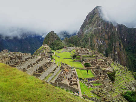 Machu Picchu, cuzco, Peru, new seven wonder of the world Stock Photo