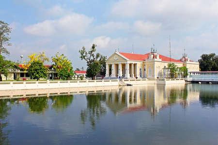 grand pa: Bang Pa-In Palace in Ayutthaya Province,Thailand Editorial
