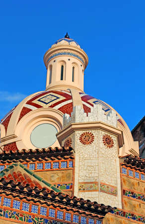 Parish Church of Sant Roma  Lloret de Mar, Costa Brava, Spain photo