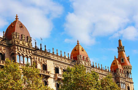 paseig: Cases Pons in Barcelona, Spain  Was built in 1890-1891 by Catalan architect Enric Sagnier