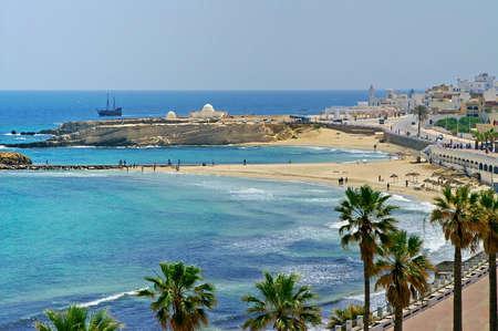 Quay in Monastir, Tunesien