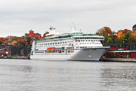 karlstad: Ferry in Stockholm, Sweden Stock Photo