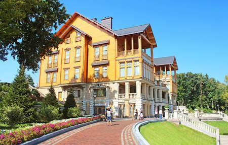 Mezhyhirya - former private residence of ex-president Yanukovich, now open to the public, Kyiv region, Ukraine