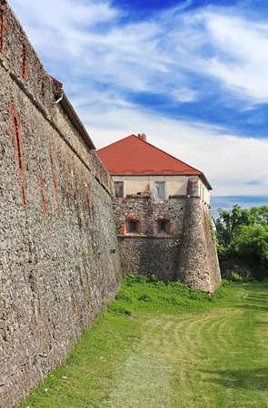 Medieval Uzhhorod Castle in Ukraine
