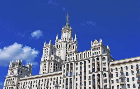 Stalin Empire style building in Moscow