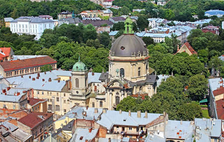 lemberg: Dominican Cathedral in Lviv, Ukraine