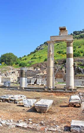historical periods: The Prytaneion at Ephesus, Turkey