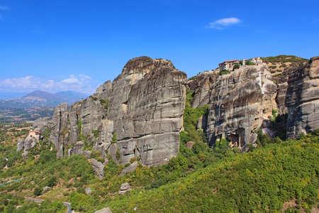 monasteries: Meteora Monasteries in Greece