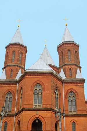 Armenian church in Chernivtsi Ukraine Stock Photo