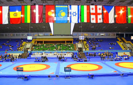 International Tournament in wrestling was held in Kyiv February 16, 2013 in Kyiv, Ukraine