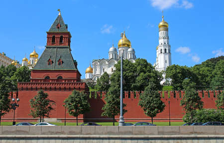 Moscow Kremlin and The Annunciation Cathedral, Moscow, Russia