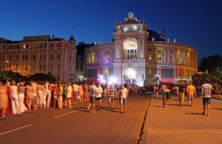 closing: Closing ceremony of Odessa International Film Festival in Odessa, Ukraine