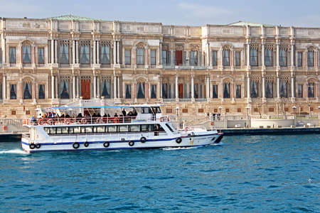 hotel chain: Ciragan Palace in Istanbul, Turkey. Ciragan Palace, a former Ottoman palace, is now a five-star hotel in the Kempinski Hotels chain. It is located on the European shore of the Bosporus, between Beikta and Ortaky in Istanbul, Turkey