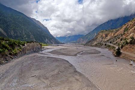 kali: Kali Gandaki Gorge, Annapurna conservation area, Nepal Stock Photo