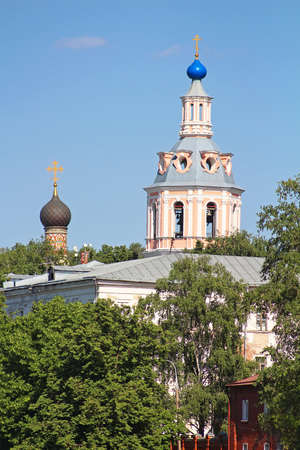 andrew: The monastery of St. Andrew, Moscow, Russia