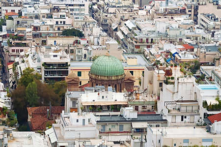 rustiness: Church of Agios Dionisios Areopagitish in Athens, Greece
