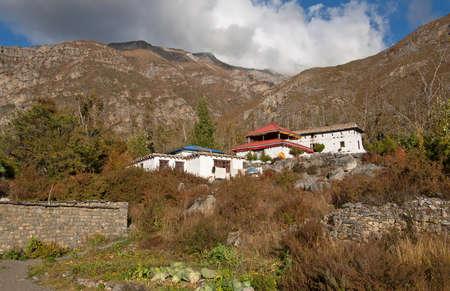 buddhist temple: Buddhist temple in Muktinath, Nepal