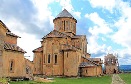 gelati: Gelati Monastery, Georgia. It contains the Church of the Virgin founded by the King of Georgia David the Builder in 1106, and the 13th-century churches of St George and St Nicholas