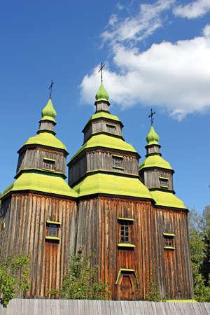 pirogovo: Old Ukrainian church, Pirogovo, Ukraine Editorial