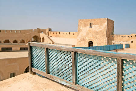 Inside mediaval fortress that nowadays serves as the archaeological museum of Sousse, Tunisia Editorial