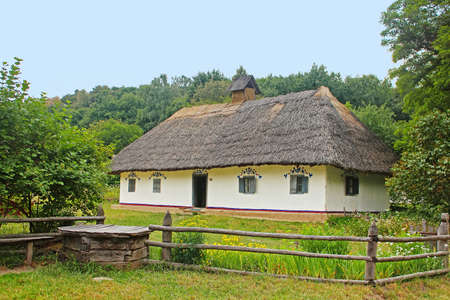 Old traditional house in Ukraine