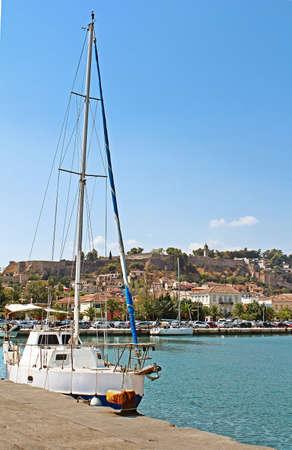 nafplio: Yacht near Nafplio, Greece