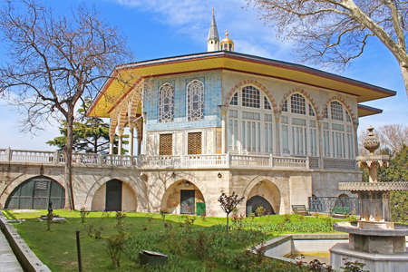 Baghdad Kiosk situated in the Topkapi Palace in Istanbul, Turkey Editorial
