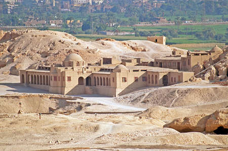 Palace in Luxor, Egypt