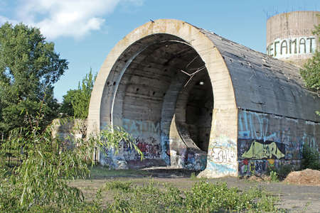 Old tunnel of Stalin. Part of Kyiv defense line in WW2 time. today named Editorial