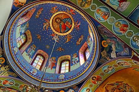 cana: Greek Orthodox Church of St. George, Kafr Cana (Kafr Kanna), Israel Editorial