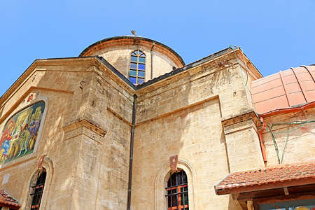 The Cana Greek Orthodox Wedding Church in Cana of Galilee, Kfar Kana, Israel