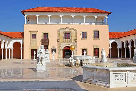 Ralli museum yard, Caesarea, Israel