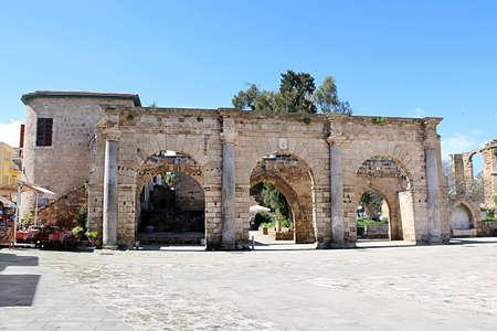 Historical Venetian Palace Ruins, Famagusta, Cyprus