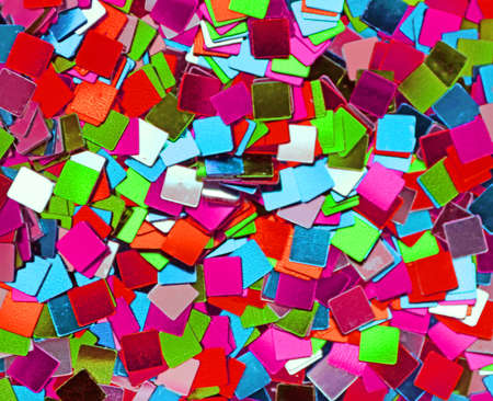 Background of holiday confetti. Holiday concept 版權商用圖片