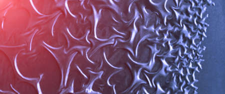 Beautiful dark blue iron pattern. Cracked surface painted in dark blue color. May be used as background, Sun beam. Banner