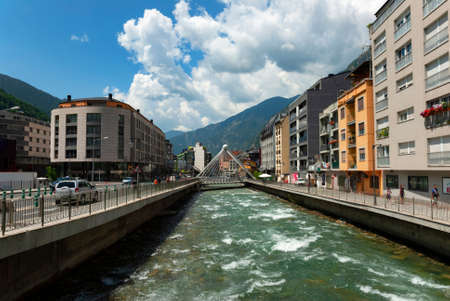 The European Principality of Andorra is an amazing and interesting place Stok Fotoğraf