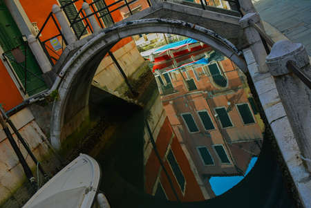 magical reflections in the Venetian canals