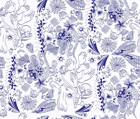 branched: Seamless subconscious pattern