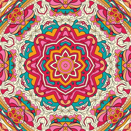 unpredictable: Colorful pattern, Mehendi carpet design.