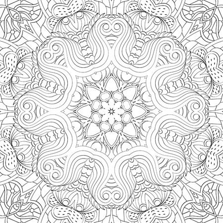Binary pattern, Mehendi carpet design.