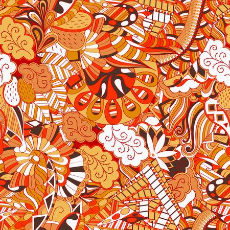 Mehndi calming pattern design.