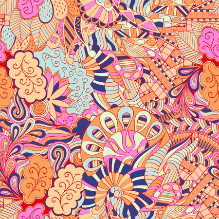 unpredictable: Mehndi calming pattern design.