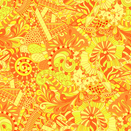 Tracery seamless calming pattern