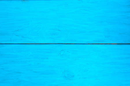 Texture of blue wooden planks